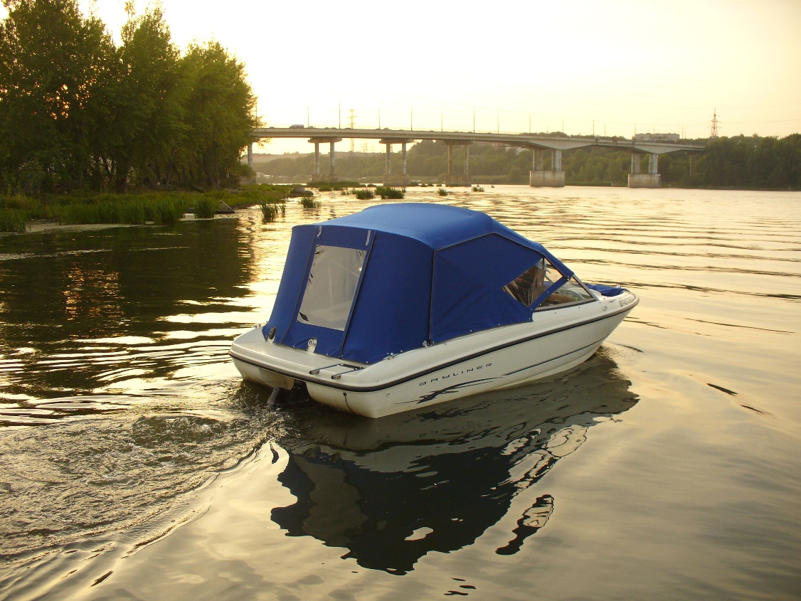 тент для лодки романтика